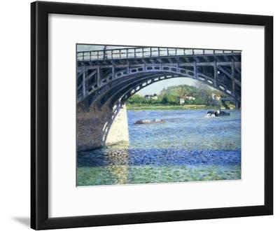 Le Pont D'Argenteuil Et La Seine, Ca. 1883