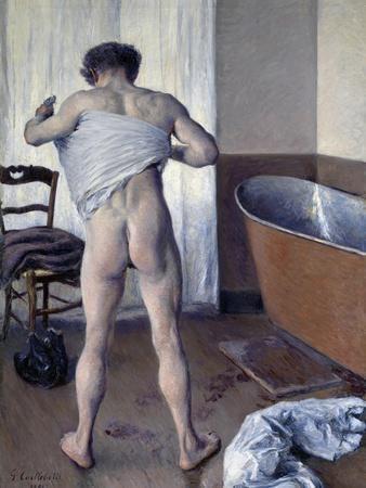 Man at His Bath