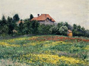 Normandy Countryside; Paysage En Normandie, 1884 by Gustave Caillebotte