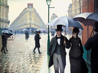 'Paris Street; Rainy Day', 1877