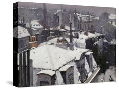 Rooftops in the Snow, c.1878