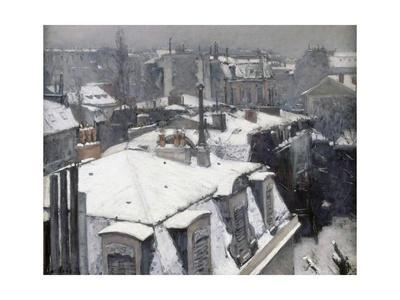 Rooftops in the Snow (Snow Effect)