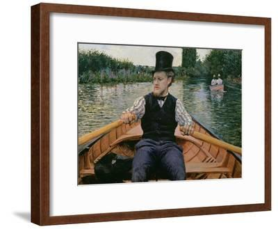 Rower in a Top Hat, C.1877-78