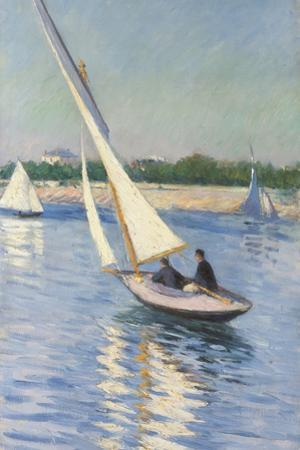 Sailing Boat at Argenteuil, 1893 by Gustave Caillebotte
