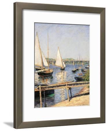 Sailing Boats at Argenteuil