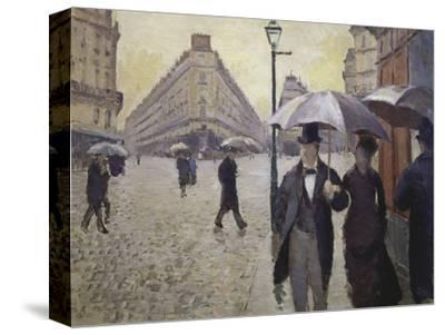 Sketch for Paris Street; Rainy Day, 1877