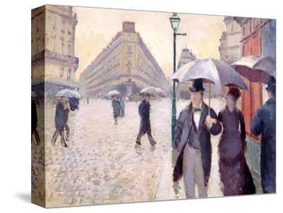 Sketch for 'Paris Street; Rainy Day', 1877