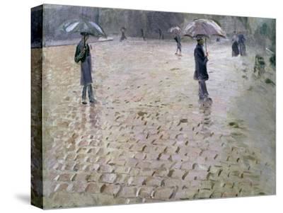 Study for a Paris Street, Rainy Day, 1877
