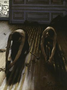 The Floor Planers, c.1875 by Gustave Caillebotte