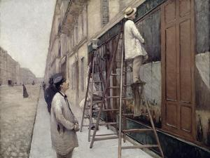 The Painters, 1877 by Gustave Caillebotte