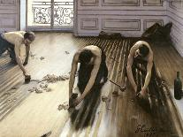 The Parquet Planers, 1875-Gustave Caillebotte-Giclee Print