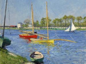 The Seine at Argenteuil, 1882 by Gustave Caillebotte