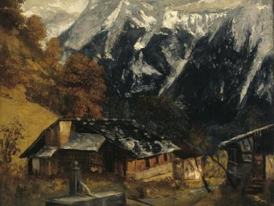 An Alpine Scene, 1874