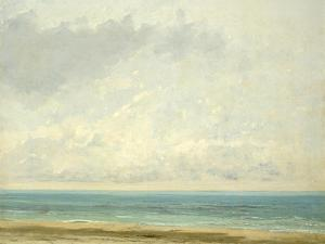 Calm Sea, 1866 by Gustave Courbet