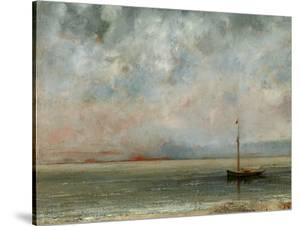 Clouds over Lake Geneva by Gustave Courbet