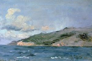 Entrance to the Straits of Gibraltar, 1848 by Gustave Courbet