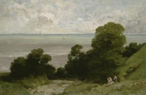 Honfleur ou l'Embouchure de la Seine by Gustave Courbet