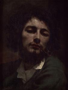 L'homme à la pipe by Gustave Courbet