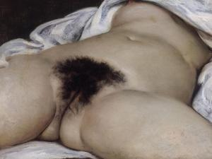 L'Origine du monde by Gustave Courbet