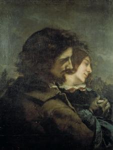 Les Amants dans la campagne by Gustave Courbet