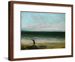 Palavas or the Artist by the Sea, 1854 by Gustave Courbet