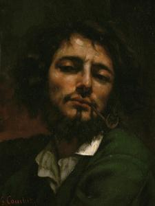 Portrait of the Artist (L'Homme a La Pipe), 1849 by Gustave Courbet