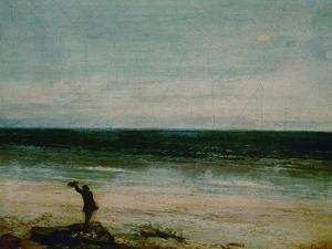 Seaside at Palavas, 1854 by Gustave Courbet