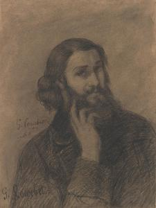Self-Portrait, c.1866 by Gustave Courbet