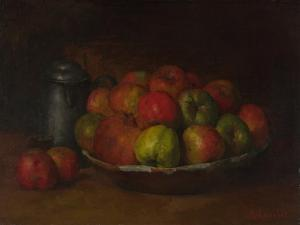 Still Life with Apples and a Pomegranate, 1871-1872 by Gustave Courbet