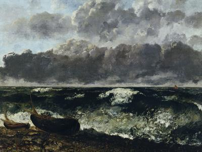 Stormy Sea or The Wave, c.1870