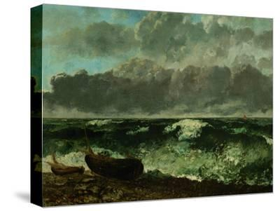 Stormy Sea (The Wave), 1870