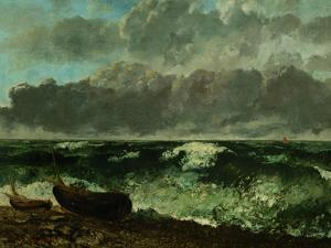 Stormy Sea (The Wave), 1870 by Gustave Courbet
