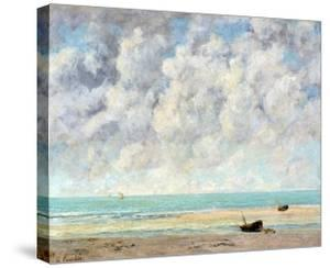 The Calm Sea by Gustave Courbet