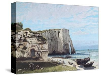 The Cliffs at Etretat after the Storm, 1870
