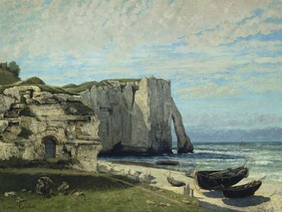 The Cliffs at Etretat after the Storm, 1870 by Gustave Courbet