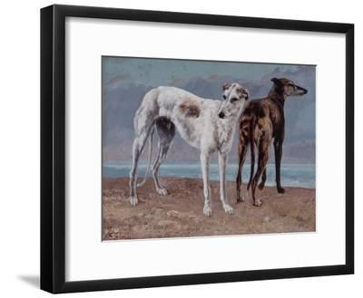 The Greyhounds of the Comte De Choiseul, 1866
