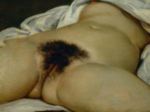 The Origin of the World by Gustave Courbet