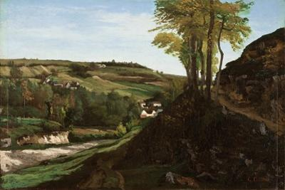 The Valley of Ornans, 1858 by Gustave Courbet