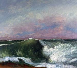 The Wave, 1870 by Gustave Courbet