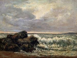 The Wave, C1870 by Gustave Courbet