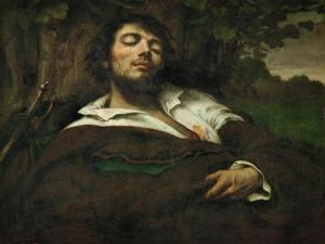 The Wounded Man, circa 1855 by Gustave Courbet