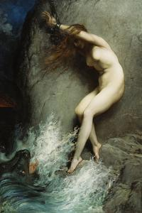 Andromeda, 1869 by Gustave Dor?