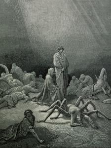 "Arachne, from the 12th Canto of Dante's ""Purgatory"" by Gustave Dor?"