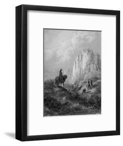 Camelot, Illustration from 'Idylls of the King' by Alfred Tennyson (Litho) by Gustave Dor?
