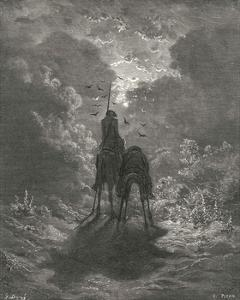 Don Quixote on Horseback by Gustave Dor?