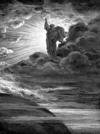 God Creating Light, 1866 by Gustave Dor?