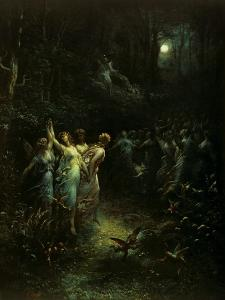 Midsummer Night's Dream by Gustave Dor?