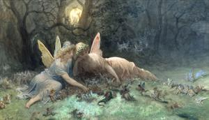The Fairies (Scene from Shakespeare) by Gustave Dor?