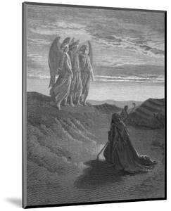 Three Angels Appear to Abraham and Inform Him of God's Intentions by Gustave Dor?