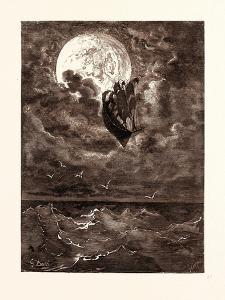 A Voyage to the Moon by Gustave Dore